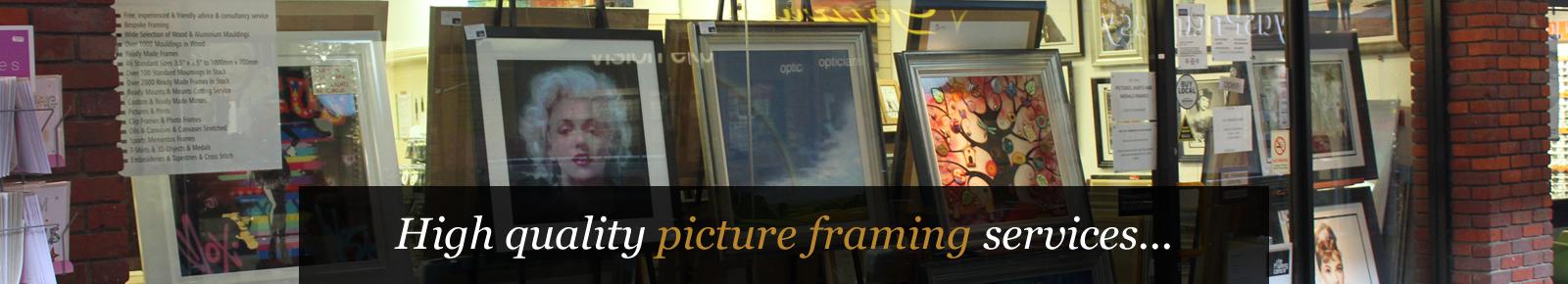 Picture Framing Buckingham